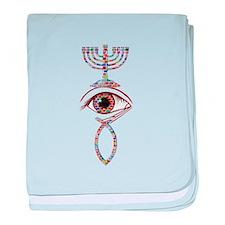 Unique Messianic baby blanket