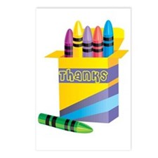 Gifts for Preschool Teachers Postcards (Package of