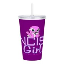 Ncis Girl Acrylic Double-Wall Tumbler