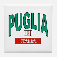 Puglia Italy Tile Coaster