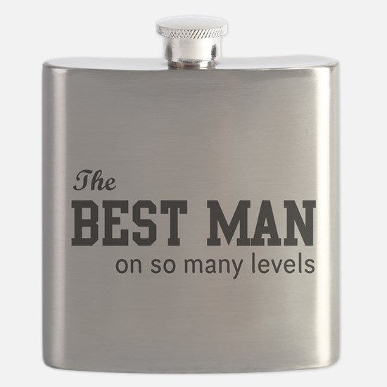 The Best Man on so Many Levels Flask