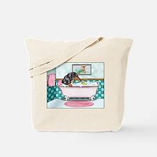 Rub-a-Dub Dapple Tote Bag