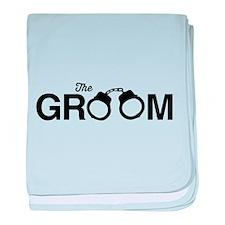 The Groom baby blanket