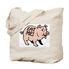Pinky the BBQ Pig Tote Bag