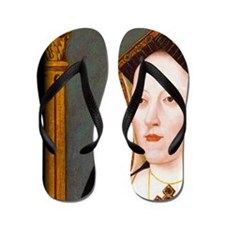 Catherine of Aragon Flip Flops