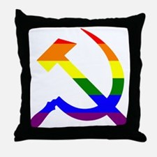 Unique Hammer and sickle Throw Pillow