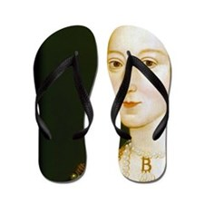 Anne Boelyn Flip Flops