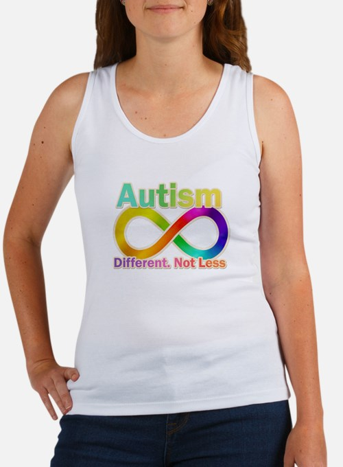 Autism. Different. Not Less Tank Top