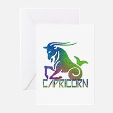 Capricorn Greeting Cards (Pk of 10)