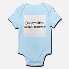 daddys little cookie monster2 Body Suit