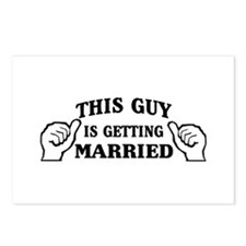This Guy Is Getting Married Postcards (Package of