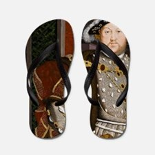 Henry VIII. Flip Flops