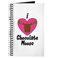 I Love Chocolate Moose Journal