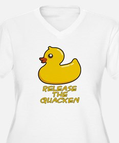 Release the Quacken Plus Size T-Shirt