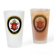 USS Annapolis SSN-760 Drinking Glass