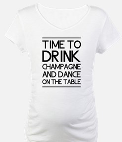 Time To Drink Champagne And Dance on the Table Mat