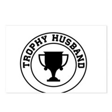 Trophy Husband Postcards (Package of 8)