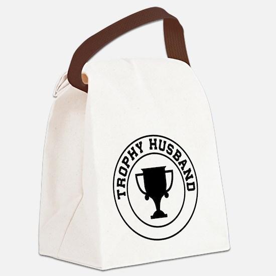 Trophy Husband Canvas Lunch Bag