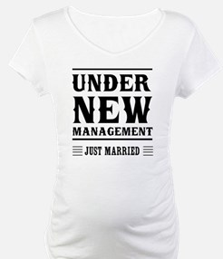 Under New Management Just Married Shirt
