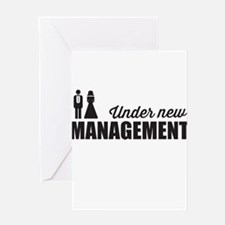 Under New Management Greeting Cards