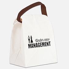 Under New Management Canvas Lunch Bag
