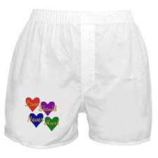 End Domestic Violence Boxer Shorts