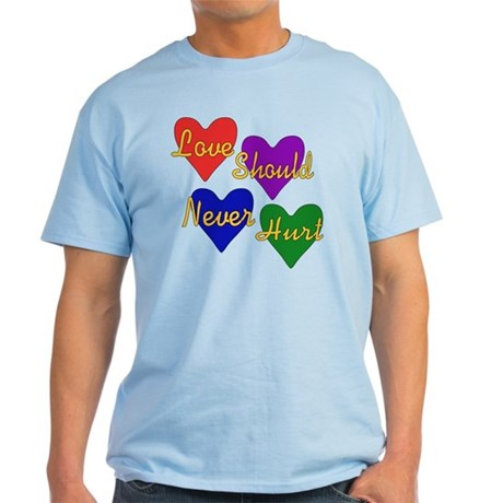 End Domestic Violence Light T-Shirt