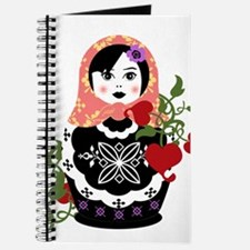Cute Russian doll Journal