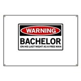 Funny bachelor party Banners