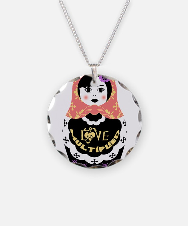 Cute Russia doll Necklace