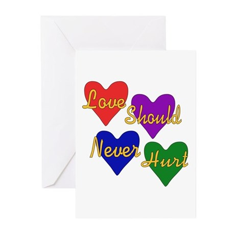 End Domestic Violence Greeting Cards (Pk of 10