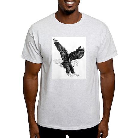 Sketch Of Eagle Landing Light T-Shirt