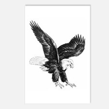 Sketch Of Eagle Landing Postcards (Package of 8)