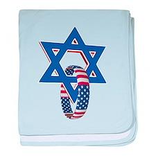 Funny Messianic baby blanket
