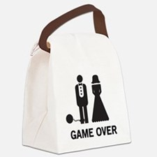 Game Over Canvas Lunch Bag