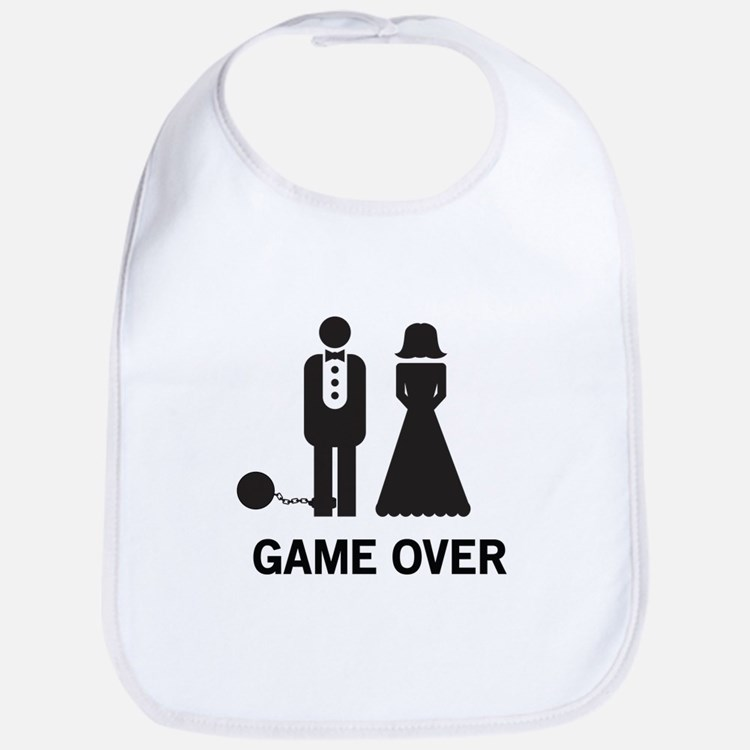 Game Over Bib