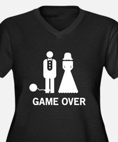 Game Over Plus Size T-Shirt