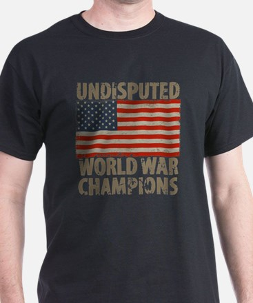 USA, Undisputed World War Champions T-Shirt