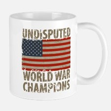 USA, Undisputed World War Champions Mug