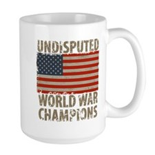 USA, Undisputed World War Champions Mug