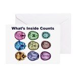 Inside Counts! Greeting Cards