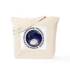 Hurricane Frances Satellite Tote Bag