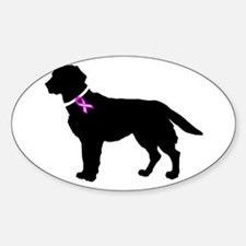 Cute Dogs cancer Decal
