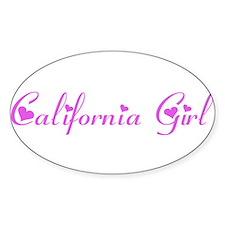 CaliforniaGirlBumperDecal copy Decal