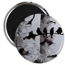 4 Birds Magnet
