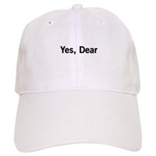 Yes, Dear Baseball Baseball Cap