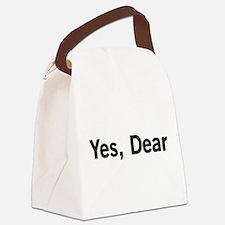 Yes, Dear Canvas Lunch Bag