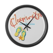 Clearwater - Large Wall Clock