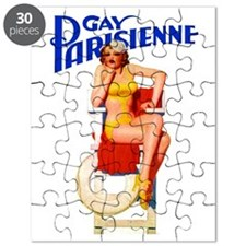 Gay Parisienne 4 GIANT Puzzle