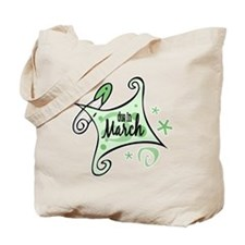 Due in March [Green] Tote Bag